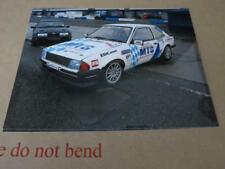 FORD - ESCORT RS1600i RS 1600i RACE CAR & RS500 - PRESS MEDIA PHOTOGRAPH