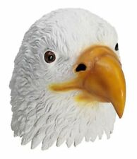 American Bald Eagle Latex Mask Bird 4th of July Halloween Costume Accessory New