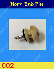 Free Shipping, 1pc - Horn End Strap Pin (GEP-002)
