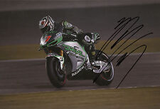 HIROSHI Aoyama mano firmato Drive M7 aspar HONDA 12x8 FOTO 2014 MotoGP.