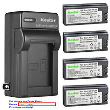 Kastar Battery Wall Charger for Sony NP-FC10 BC-VC10 & Sony Cyber-shot DSC-P8R