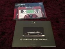 Jaguar E-Type Classic Reborn Brochure 2019 + Classic Infotainment Brochure