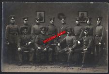 Gruppenfoto-Militär -säbel-1914-Feldzug