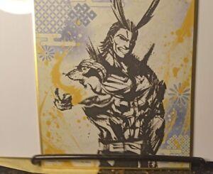 Shikishi Art My Hero Academia  All Might