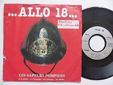 ALLO 18 Les Sapeurs Pompiers DANIEL WEYSTMAN RSN0001  Discotheque RTL