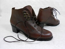 Bottines à lacet boots lace ups botas stivali stiefelletten cuir leather 37