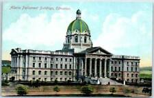 "Edmonton, Alberta Canada Postcard ""Alberta Parliament Buildings"" c1910s"