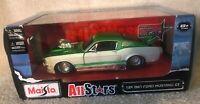 Maisto 1967 Ford Mustang GT Green/W 1/24 Diecast Car NIB VHTF!!!