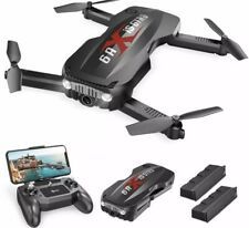 Holy Stone HS160 Pro Foldable Drone 1080p HD WiFi Camera quadcopter 2 batteries