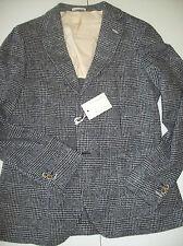 Gant Rugger Navy Glen Plaid Wool Blend Boucle Sport Coat NWT 42R $795