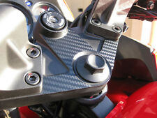 Carbon Fiber Triple Clamp Decal 2008 - 2012 Kawasaki Ninja 250R ZX250 - 3M Vinyl