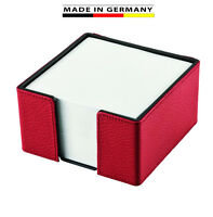 Marke EuroStyle Schreibtischset Leder 5tlg Handmade in Germany excl aus genarbtem Rindnappaleder erh/ältlich in 5 Farben excl Farbe dunkelbraun