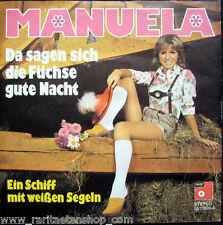 Single / MANUELA / SCHLAGER / RARITÄT / 1973 /