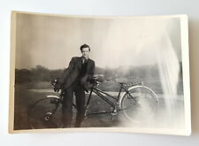 Vintage Photo of Bike for two. 1948