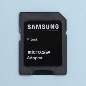 Genuine Samsung Micro SD SDHC (MicroSD) to SD Memory Card Adapter
