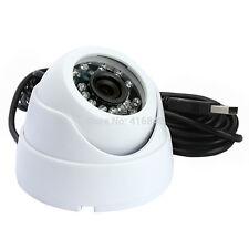 640X480 VGA Outdoor Night Vision IR Security Dome USB Camera Webcam 3.6mm Lens