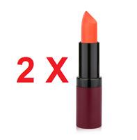 Golden Rose Velvet Matte Lipstick  High Coveragen 2 X №36