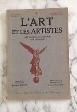 L'ART ET LES ARTISTES.REVUE D'ART  1924  N° 52  Francesco Salviati , Quizet etc