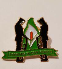 Easter Lily Irish Republican Remembrance Pin Badge 1916 Rising Ira Ireland rebel