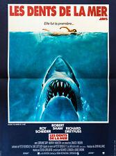 Affiche Pliée 40x60cm LES DENTS DE LA MER (JAWS) 1975 Spielberg - Roy Scheider