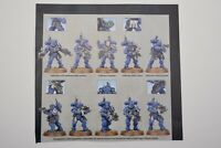 Warhammer 40k Vanguard Primaris Space Marines Infiltrators (10) Shadowspear -NoS