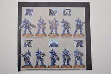 Warhammer 40k Vanguard Primaris Space Marines Infiltrators (10) Shadowspear -NoS