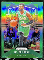Jaylen Brown 2019-20 Panini Prizm Green Prizm Boston Celtics #40