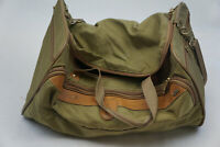 Hartmann Ballistic Nylon Leather Carry On Duffle Bag Vintage Suitcase 20x10x14