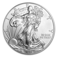 2015 1 oz Silver American Eagle - Brilliant Uncirculated Coin .999 1oz. BU