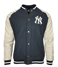 NY Baseball Varsity Jacket Mens Medium Majestic New York Yankees Letterman