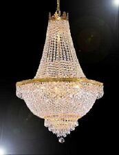 "Swarovski Crystal Trimmed Chandelier 44X66"" French Empire Crystal Chandelier"