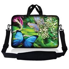 "15.6"" Laptop Sleeve Bag Case w Shoulder Strap HP Dell Asus Acer Butterfly15SP02"