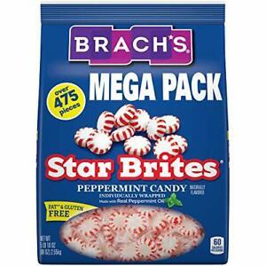 Brach's Star Brites Peppermint Starlight Mints Hard Candy 5.6 lbs Bulk Candy ...