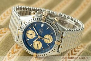 Breitling Chronomat Chronograph Stahl / Gold Automatik Herrenuhr Ref. B13047