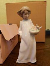 Lladro Nao Figurine 1432 ln box Morning Sounds