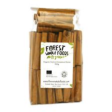 "Organic Ceylon Cinnamon Sticks (Quills) 3"" (Free UK Delivery) 500g"