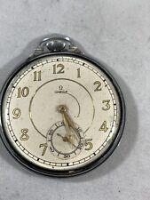 Antique Omega Swiss Pocket Watch RUNS 16 Jewel