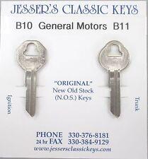 Chevrolet NOS B-10 B-11 Briggs & Stratton Original Key Set 1956 1957 1958 1959