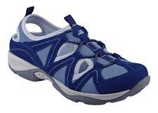 Easy Spirit Earthen walking shoe suede leather stretch blue sz 9 Med NEW