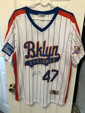 Jesse Orosco Autographed Brooklyn Cyclones New York Mets World Series Jersey XL