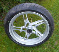BMW R 850 RT/R;R 1150 RT/R/RS Vorderrad silber inkl. Reifen/Felge