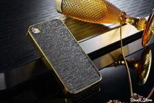 Design Bling Hülle für Apple iPhone 4s 4 Tasche Case Cover - Schwarz (38SC)