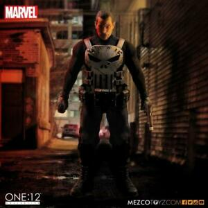 "MEZCO TOYZ ONE:12 MARVEL PUNISHER 6"" ACTION FIGURE ORIGINAL VERSION BRAND NEW"