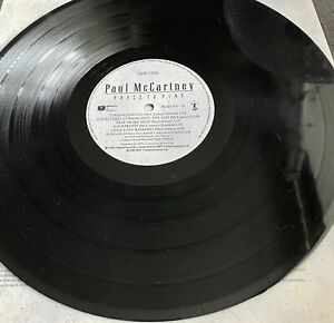 Signed Paul Mccartney Press Play Vinyl Album