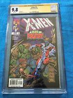 X-Men #74 - Marvel - CGC SS 9.8 NM/MT - Signed by Joe Kelly
