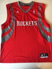 Adidas NBA Authentic Houston Rockets Blank Jersey Size L NWT