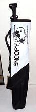 "Snoopy Junior Nylon Sunday Golf Bag 23"" Top to Bottom Small Ball Pocket"