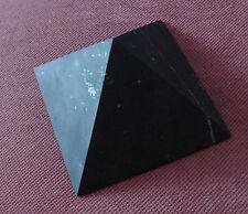 Shungite Unpolished Pyramid 80 mm Healing Protection Schungite Karelia Russia