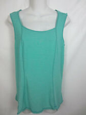 Lululemon Aqua Green Striped Run Righteous Fitness Athletic Top Size 8