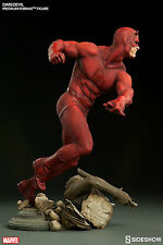 "SIDESHOW DAREDEVIL 17"" PREMIUM FORMAT FIGURE Statue FIGURINE Bust MARVEL COMICS"
